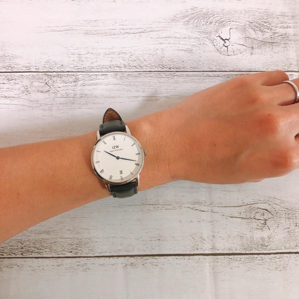 ダニエル・ウェリントン腕時計DAPPER 34mm