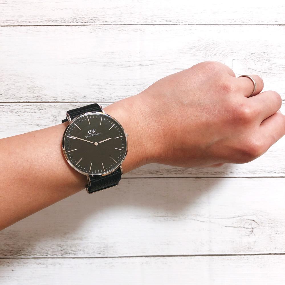 ダニエルウェリントン腕時計CLASSICとCLASSIC BLACK 40mm