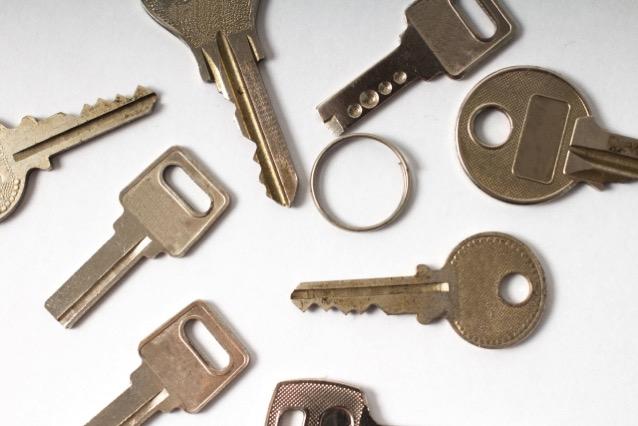 鍵ポケットは鍵が落下しやすい