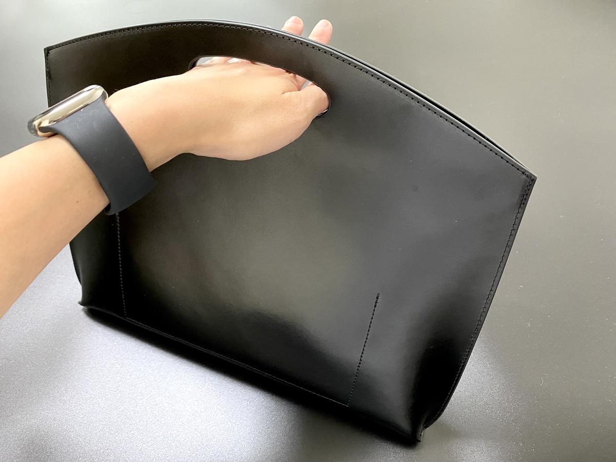 PELULU.TOKYO「Flat minimal leather bag」