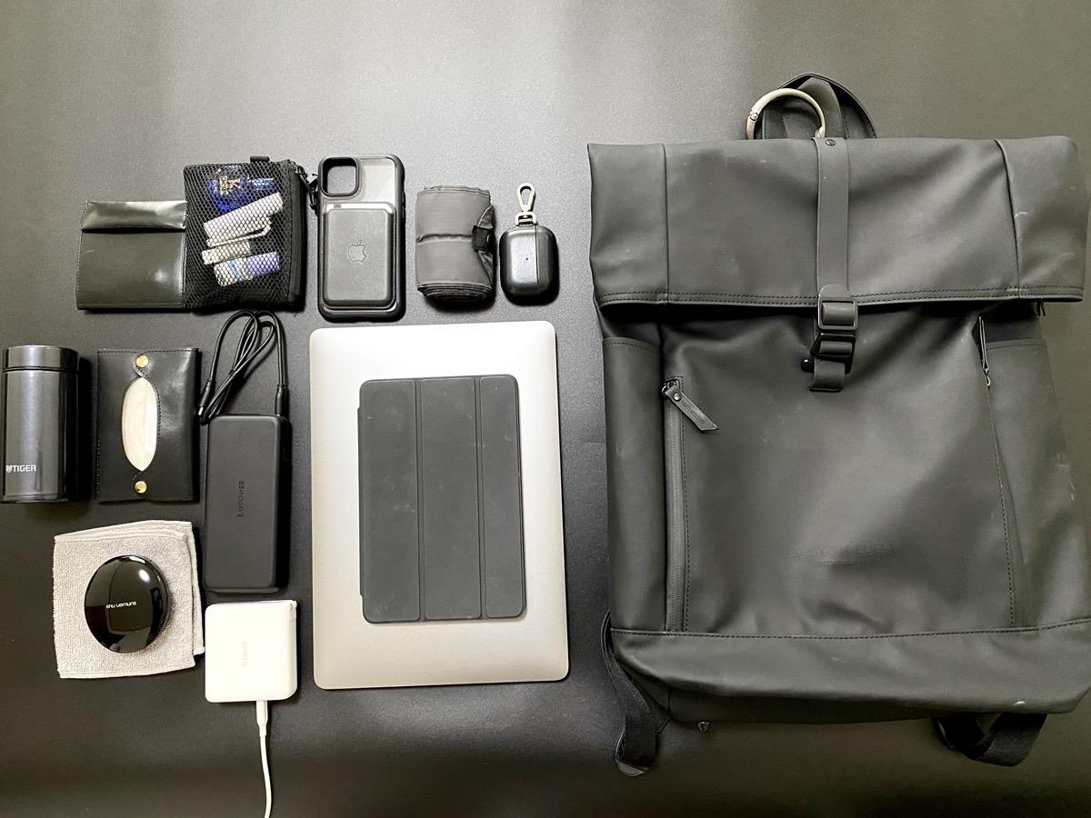 GastonLuga パソコンを持ち歩くときの荷物